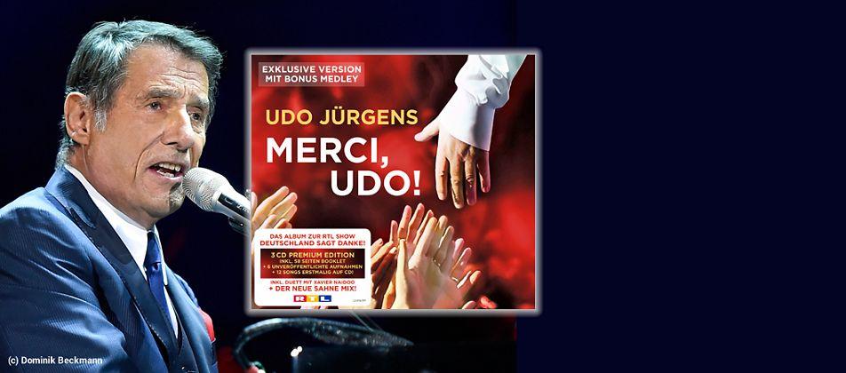 Udo Jürgens - Merci, Udo CD hier kaufen