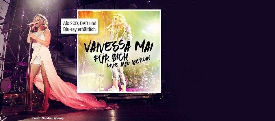 Vanessa Mai - Für dich live aus Berlin CD hier kaufen