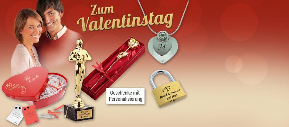 Personalisierte Geschenke zum Valentinstag!