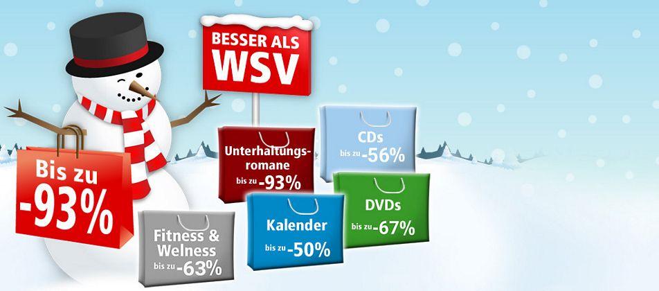 Besser als WSV - jetzt Schnäppchen bis zu 93% günstiger sichern!