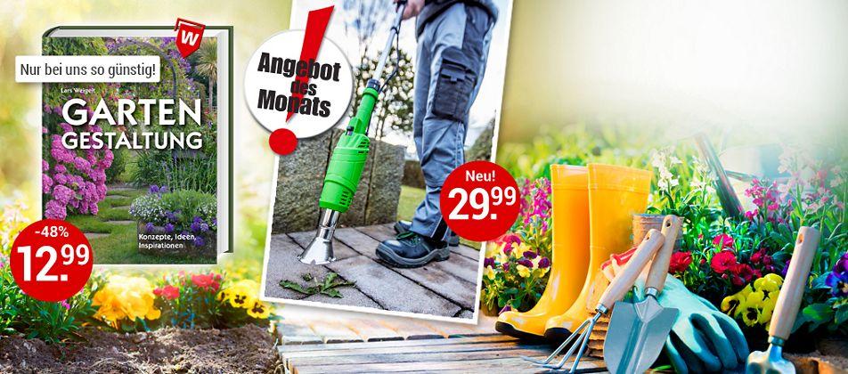 Endlich wieder Gartenzeit - alles für die Gartenarbeit!