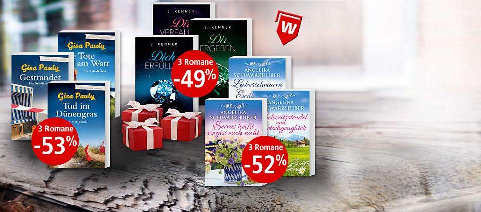 Unsere besten Preis-Leistungs-Schmöker: Bücher im Paket!