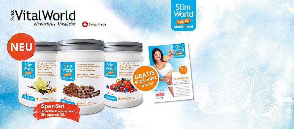 Jetzt starten & erfolgreich abnemen mit dem neuen SlimWorld Diät Drink.
