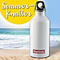 Unser Sommer-Knaller: Trinkflasche aus Edelstahl für nur 0.99 €!