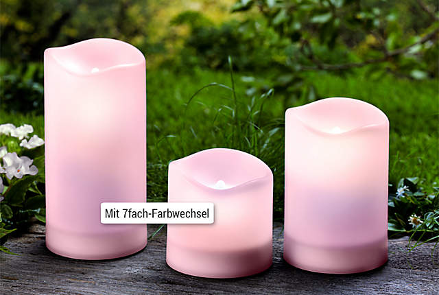 Bild Solar-LED-Kerzen