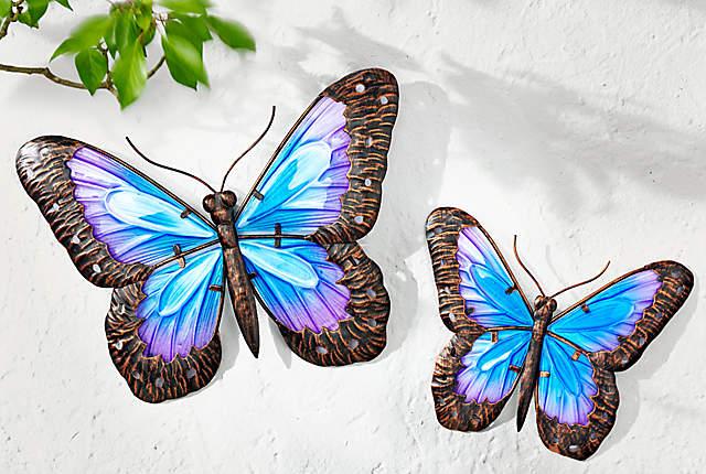 Bild Wanddeko Schmetterling