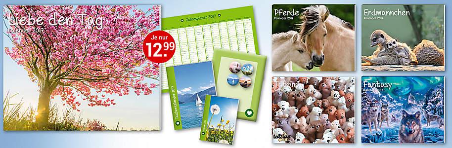 Bild 9-tlg. Kalenderpakete