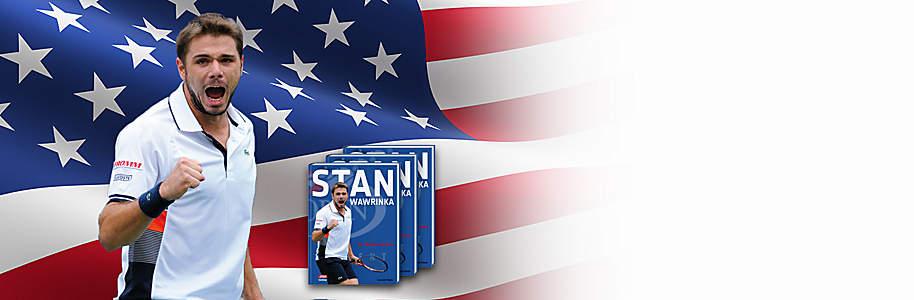#Gewinnen Sie 1 von 60 Bildbänden von Stan Wawrinka!