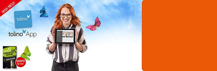 ##Für Smartphone, PC und Tablet  - eine Lese-App für alle Bücher • Komfortabel eBooks downloaden und lesen!     • Auf ihrem Smartphone, iPhone, iPad oder Tablet     • Jetzt noch flexibler und leistungsstärker!     • Bei Weltbild: Über 2 Mio. eBooks – viele exklusiv – ab Fr. 1.95!   • **Nur bis 04.11. GRATIS eBook hier downloaden!**    **So funktionierts:**   •QR-Codes scannen und die tolino Lese-App kostenlos downloaden   •       Code **BEGINN** eingeben oder über die Liste Weltbild als Buchhändler auswählen
