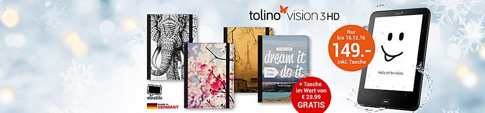 Aktion vision 3 HD + gratis Tasche