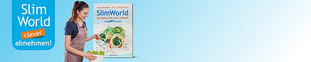 # Feine Rezepte aus dem SlimWorld Kochbuch - So koche ich mich schlank ####Laden Sie sich unsere kostenlosen SlimWorld-Rezepte herunter sowie einige persönliche Tipps von Angela Hammerer, Ernährungsberaterin und Autorin, die Sie auf dem Weg zur optimalen Figur unterstützen!