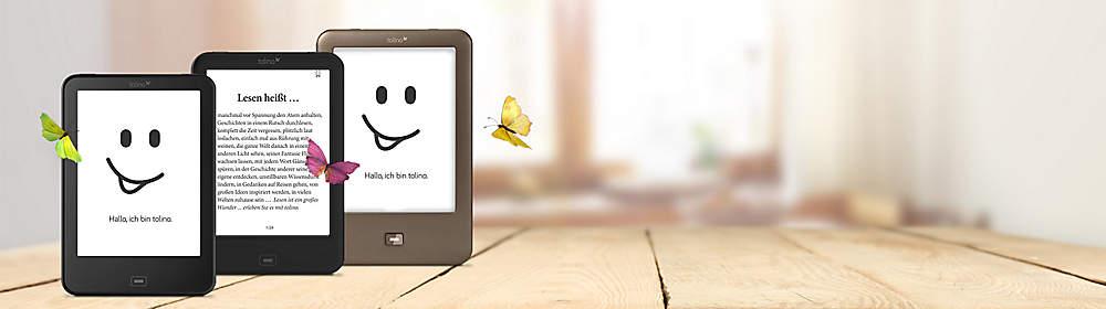 ###Stimmen zu den tolino eBook Readern###  Hier finden Sie Presse- und Kundenstimmen  rund um die neuen eBook Reader **tolino shine 2 HD und tolino vision 3 HD** sowie tolino shine und tolino vision 2.