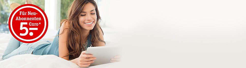 ### Newsletter abonnieren, 5 Euro Gutschein* kassieren!  Ihre Vorteile als Newsletter-Abonnent - Sie sind immer bestens informiert: über aktuelle Aktionen, Schnäppchen, Neuheiten u. v. m. - Sie erhalten die neuesten Angebote per E-Mail - noch bevor sie im Katalog stehen!  Melden Sie sich bis zum 01.09.2017 für unseren Newsletter an. Jeder Neu-Abonennt erhält eine Bestätigung mit einem 5 Euro Gutschein*!   *5 Euro Preisnachlass ab einem Einkaufswert von 20 Euro. Ausgenommen preisgebundene Ware. Der Nachlass gilt nur einmalig bis zum 30.09.2017 und kann nicht mit anderen Aktionen kombiniert werden.