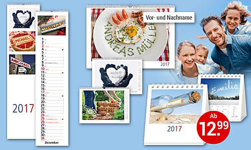 Bild Personalisierte Kalender