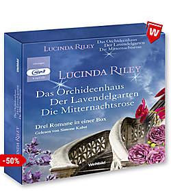 3 Bestseller von Lucinda Riley als Hörbucher in einer Box