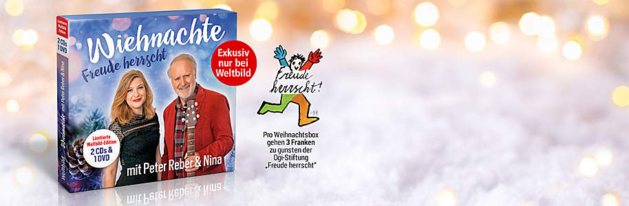 #Alle Weihnachtslieder von Peter Reber & Nina in einer Box!