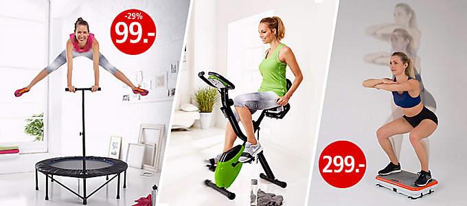 Fitness Geräte für Zuhause