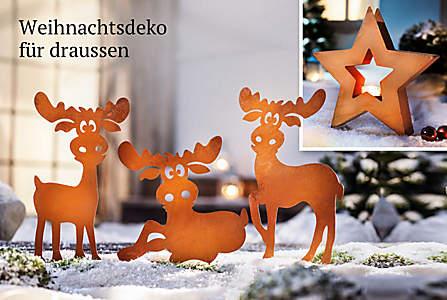 Bild Weihnachtsdeko für draussen
