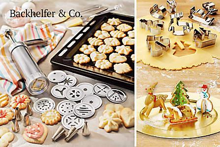 Bild Backhelfer für die Weihnachtsbäckerei