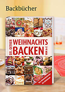 Bild Backbuch Weihnachtsbäckerei