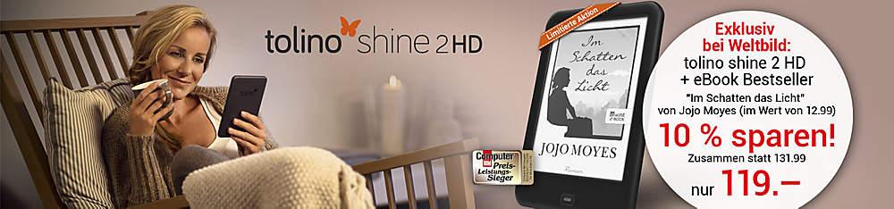 tolino shine 2 HD + eBook Jojo Moyes