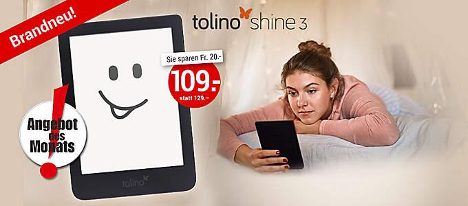 tolino shine 3 zum Aktionspreis!