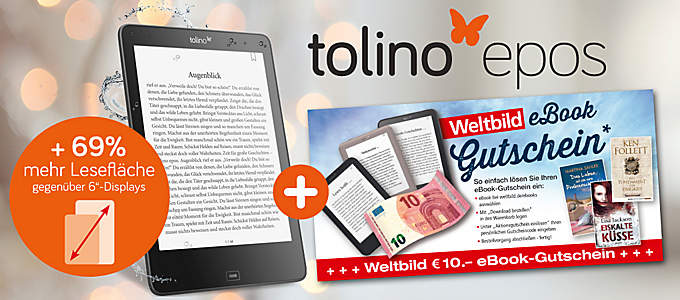 Bild tolino epos + eBook GS