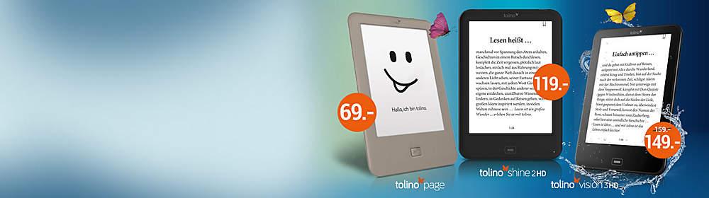 """#Welcher tolino passt zu mir? Hier finden Sie die tolino eBook Reader und das tolino tab 8"""" im direkten Vergleich. So finden Sie schnell und einfach den passenden tolino für Ihre Bedürfnisse."""