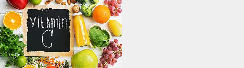 Welche Aufgaben haben Vitamin C & Zink im Körper? Was sind die Symptome eines Mangels an Vitamin C & Zink? Wie hoch ist der Bedarf an Vitamin C & Zink?