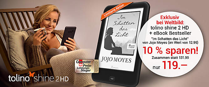 tolino shine 2 HD + eBook Jojo Moyes