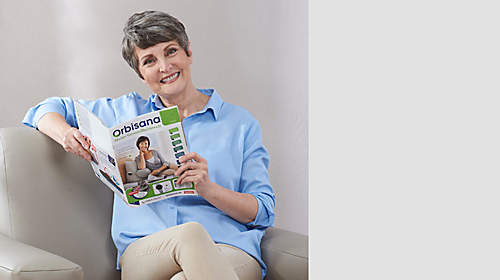 """ORBISANA Katalog  direkt online durchblättern  {{ button href=""""https://www.orbisana.de/orbisana-katalog"""" text=""""jetzt ansehen""""}}"""