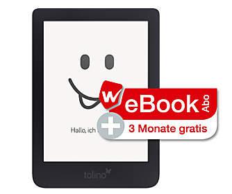 tolino shine 3 + WeBookAbo 3 Monate gratis