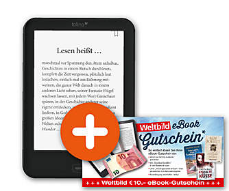 tolino shine 2 HD + 10.- € eBook-Gutschein GRATIS