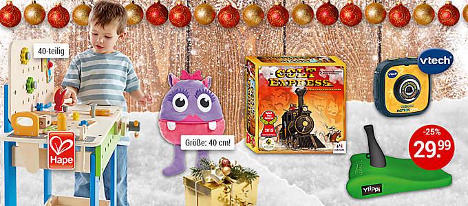 Bild Weihnachtswelt Spielwaren