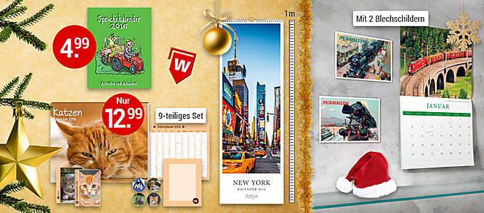 Bild Weihnachtswelt Kalender