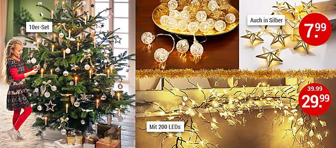 Bild Weihnachtsbeleuchtung