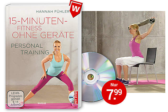 Bild Fitnessbuch