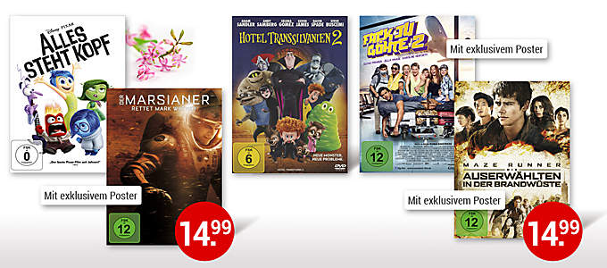 DVD-Highlights zum Verschenken