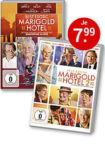 Bild DVDs Marigold Hotel