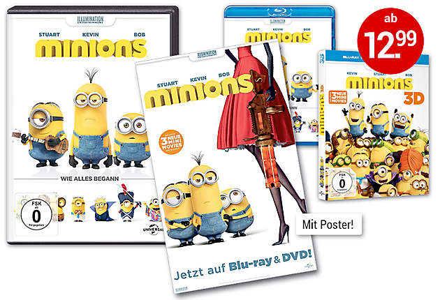 Bild DVDs + Poster