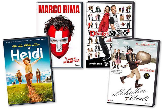 Schweizer DVDs