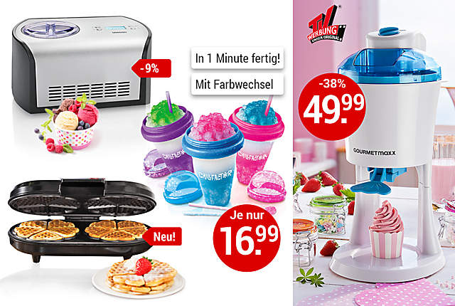 Bild Smoothie-Maker und Backformen