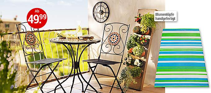 Bild Mediterrane Balkonmöbel