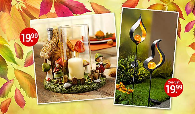 Herbstdeko und herbstliche Wohnideen von Weltbild