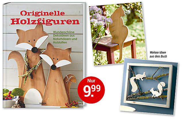 Bild Buch Holzfiguren