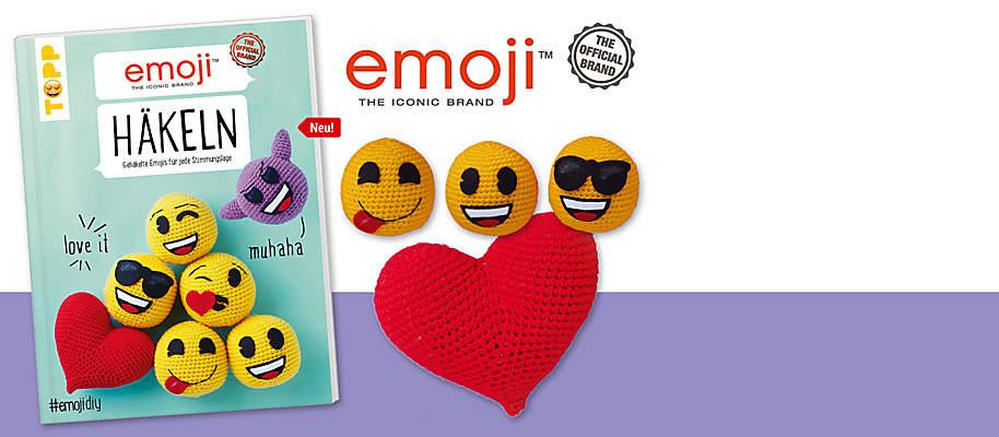 """#Man muss sie lieben: Gehäkelte emojis# Als Schlüsselanhänger oder Taschen-Charm machen sie unser Leben jetzt auch außerhalb der digitalen Welt bunter. Ganz einfach gehäkelt und mit aus Filz ausgeschnittenen Gesichtern. **Gehäkelte emojis für jede Stimmungslage:** Sind wir happy, dann lacht das emoji mit. Sind wir cool, begleitet uns das Sonnenbrillen-emoji. Sind wir verknallt, dann verschenken wir natürlich Herzchenaugen ...       {{ button href=""""/artikel/buch/emoji-haekeln_21655360-1"""" text=""""Zum Buch""""}}"""