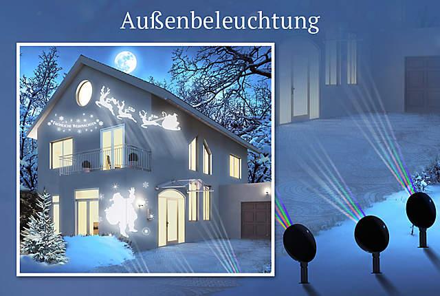 Bild Weihnachtsbeleuchtung für draußen