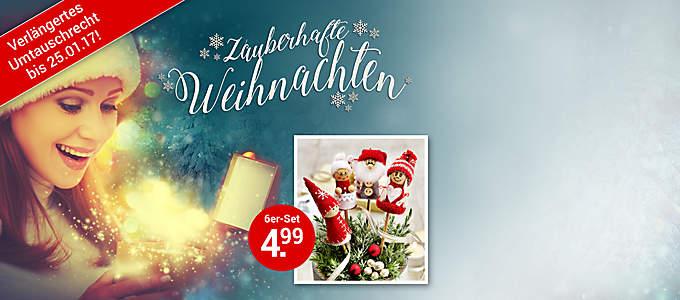#Vorfreude ist die schönste Freude#  Entdecken Sie neue Ideen für Ihre **Weihnachts-Deko** und wählen Sie rechtzeitig Ihre **Geschenke** aus **[unserem großen Geschenkefinder](#themenwelten-weihnachten-ueberschrift-geschenkefinder)** aus. In unserer **Weltbild-Weihnachtswelt** werden Sie garantiert fündig:   * **[Weihnachtsdeko](/themenwelten/weihnachten/weihnachtsdeko)** * **[Weihnachtsbeleuchtung](/themenwelten/weihnachten/weihnachtsbeleuchtung)** * **[Adventskalender](/themenwelten/weihnachten/adventskalender)** * **[Beste Buchgeschenke](/themenwelten/weihnachten/buecher)** * **[Kinder- & Jugendbücher](/themenwelten/weihnachten/kinder-und-jugendbuecher)** * **[Musik-Highlights](/themenwelten/weihnachten/musik)** * **[Neue Lieblingsfilme u.a.m.](/themenwelten/weihnachten/dvd-und-blu-ray)**  **Klicken Sie rein - und Weihnachten kann kommen**