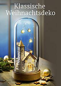 Bild Klassiche Weihnachtsdeko