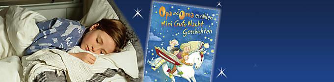 """####Alle Geschichten zum Selbst-Vorlesen finden Sie hier!####  {{ button href=""""/artikel/buch/opa-und-oma-erzaehlen-mini-gute-nacht-geschichten_20852663-1"""" text=""""Zum Buch""""}}"""